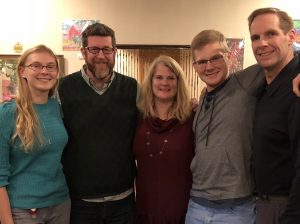 Wilson Hill Academy online Christian homeschooling students meet up with their instructor, Bruce Etter