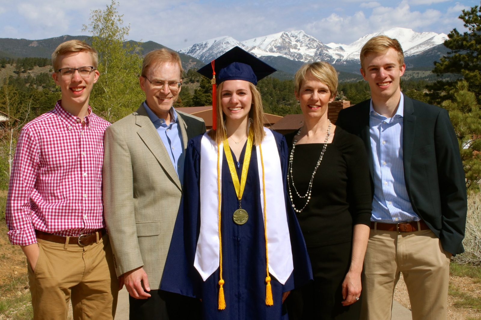 Online Christian homeschooling student's graduation celebrated by family