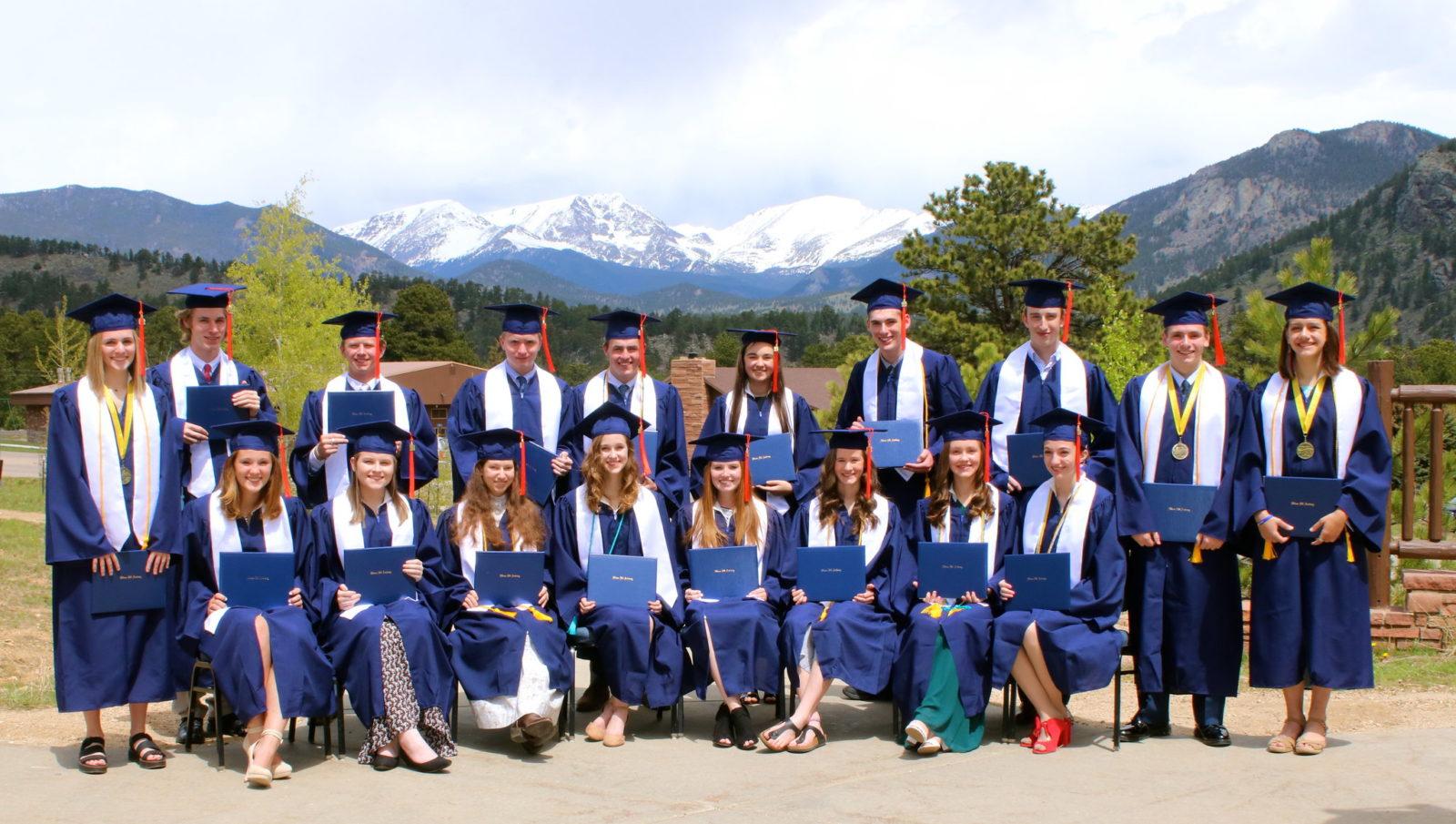 Online Christian Homeschool graduating class